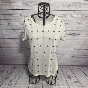 Lovers + Friends Dotted Tee